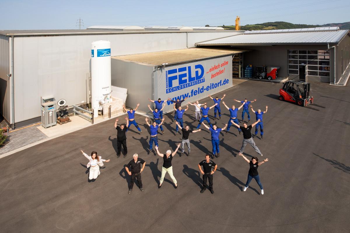Maschinenbau Feld Team